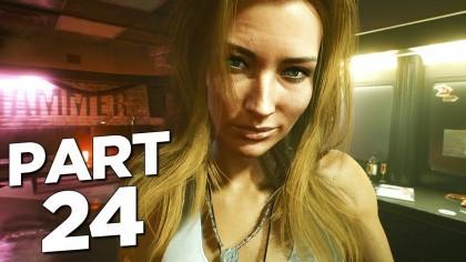 Видеопрохождения - Cyberpunk 2077 прохождение, часть 24 - ALT