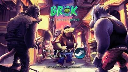 BROK the InvestiGator - Анонсирующий трейлер