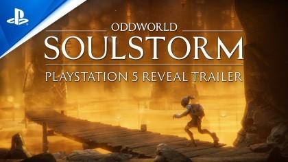 видео Oddworld Soulstorm - Анонсирующий трейлер