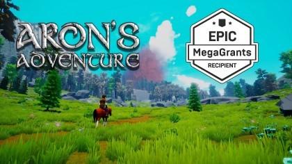 Геймплей - Aron's Adventure - геймплей трейлер (MegaGrant)