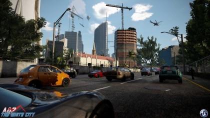 Геймплей - AQP City - Открытый мир, геймплей
