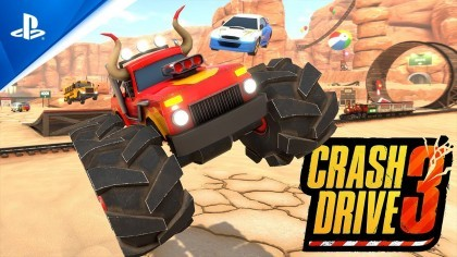 Трейлеры - Crash Drive 3 - трейлер анонса