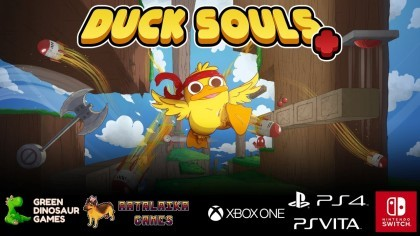Трейлеры - Duck Souls - трейлер запуска