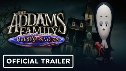 Трейлеры - The Addams Family: Mansion Mayhem - трейлер