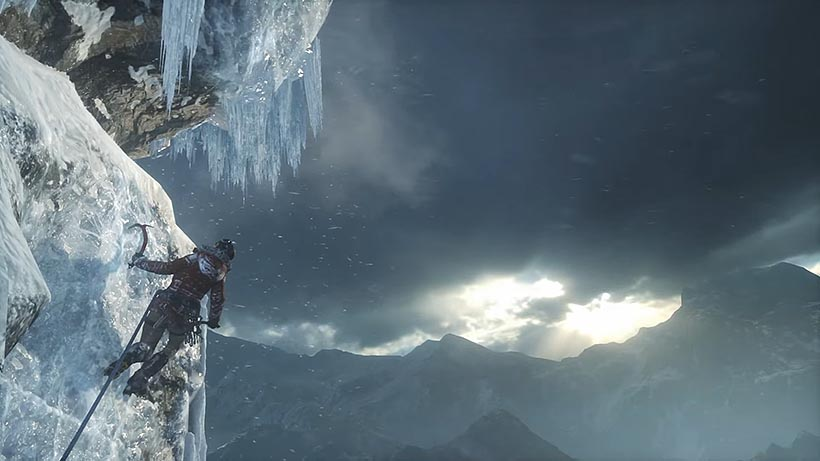 Rise of the Tomb Raider вершина горы прохождение