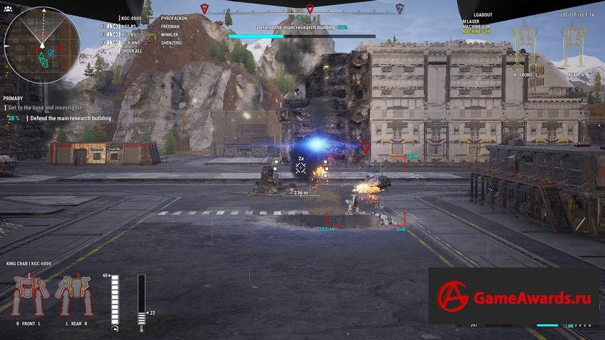 прохождение MechWarrior 5: Mercenaries