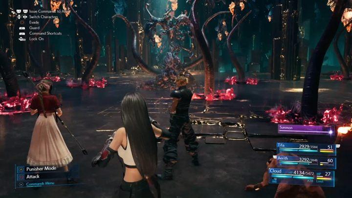 боссы Final Fantasy 7 Remake