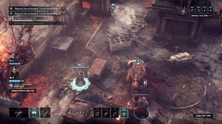 советы по прохождению Gears Tactics