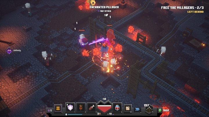 Minecraft: Dungeons сохранение