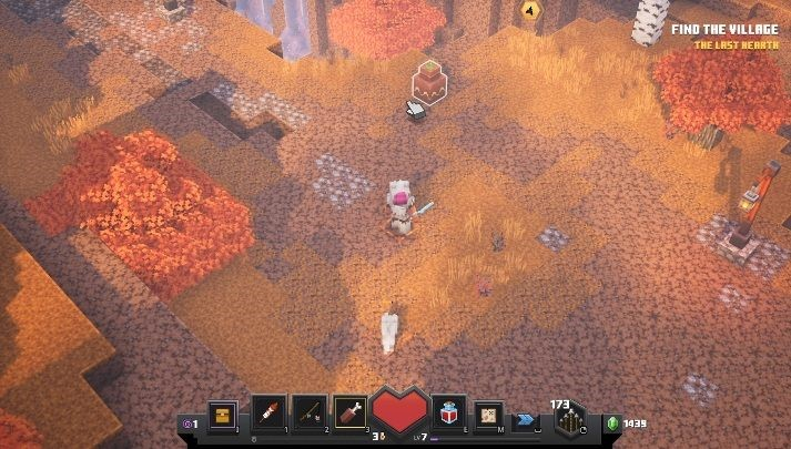 прохождение Minecraft: Dungeons