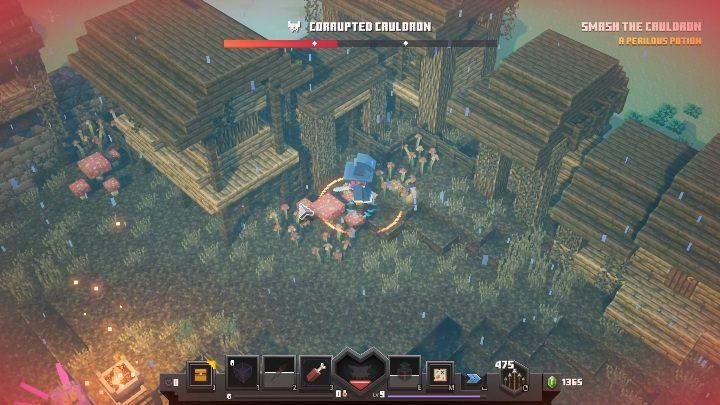 Minecraft: Dungeons боссы