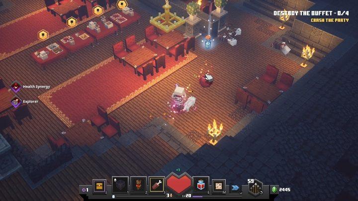 Minecraft: Dungeons зелья
