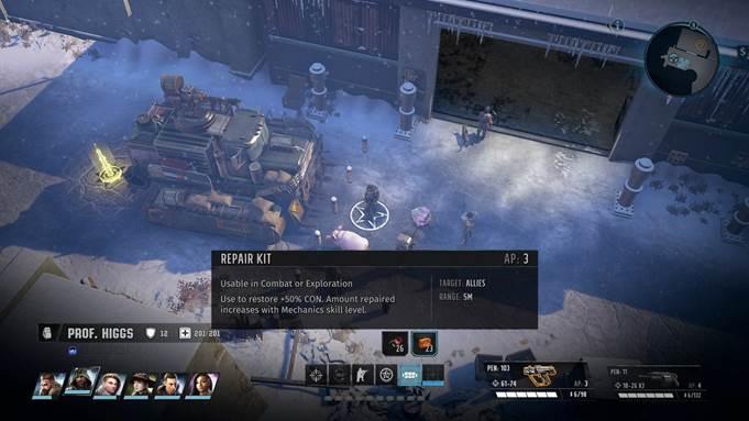 Как отремонтировать Кадьяк в Wasteland 3