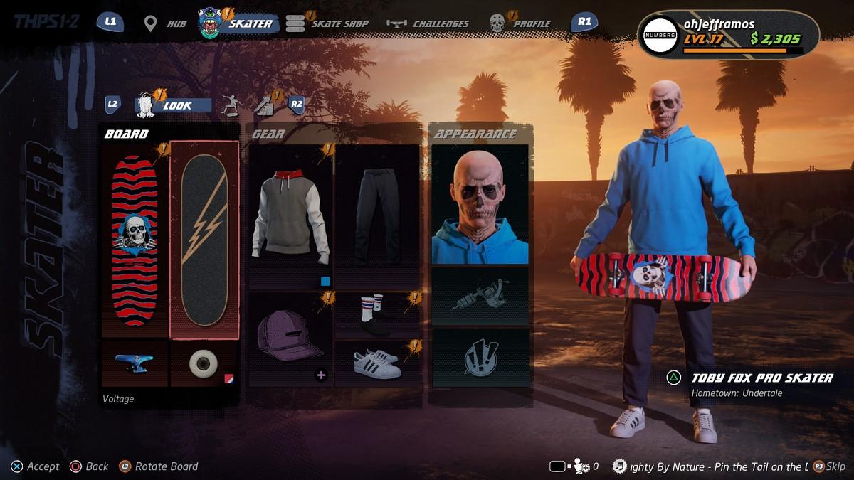 Tony Hawk's Pro Skater 1 + 2 персонаж как создать