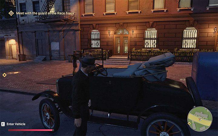 угнать машину транспорт Mafia: Definitive Edition
