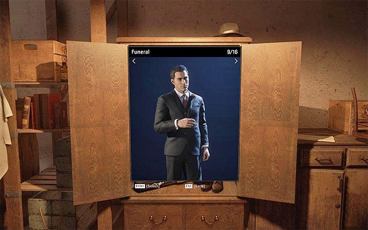 одежда внешний вид персонажа Mafia: Definitive Edition