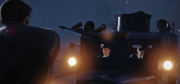 полицейский бронемобиль Mafia: Definitive Edition