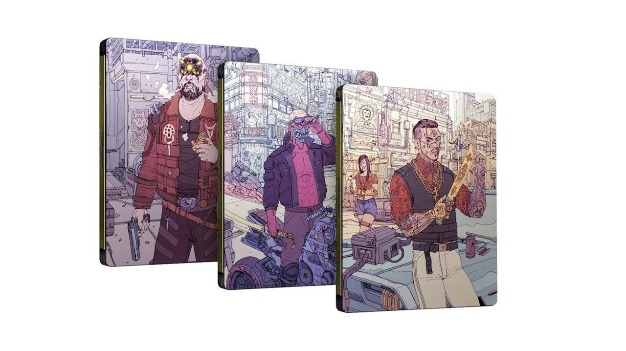 Cyberpunk 2077 Steelbook Case - бонус за предзаказ по лучшей покупке
