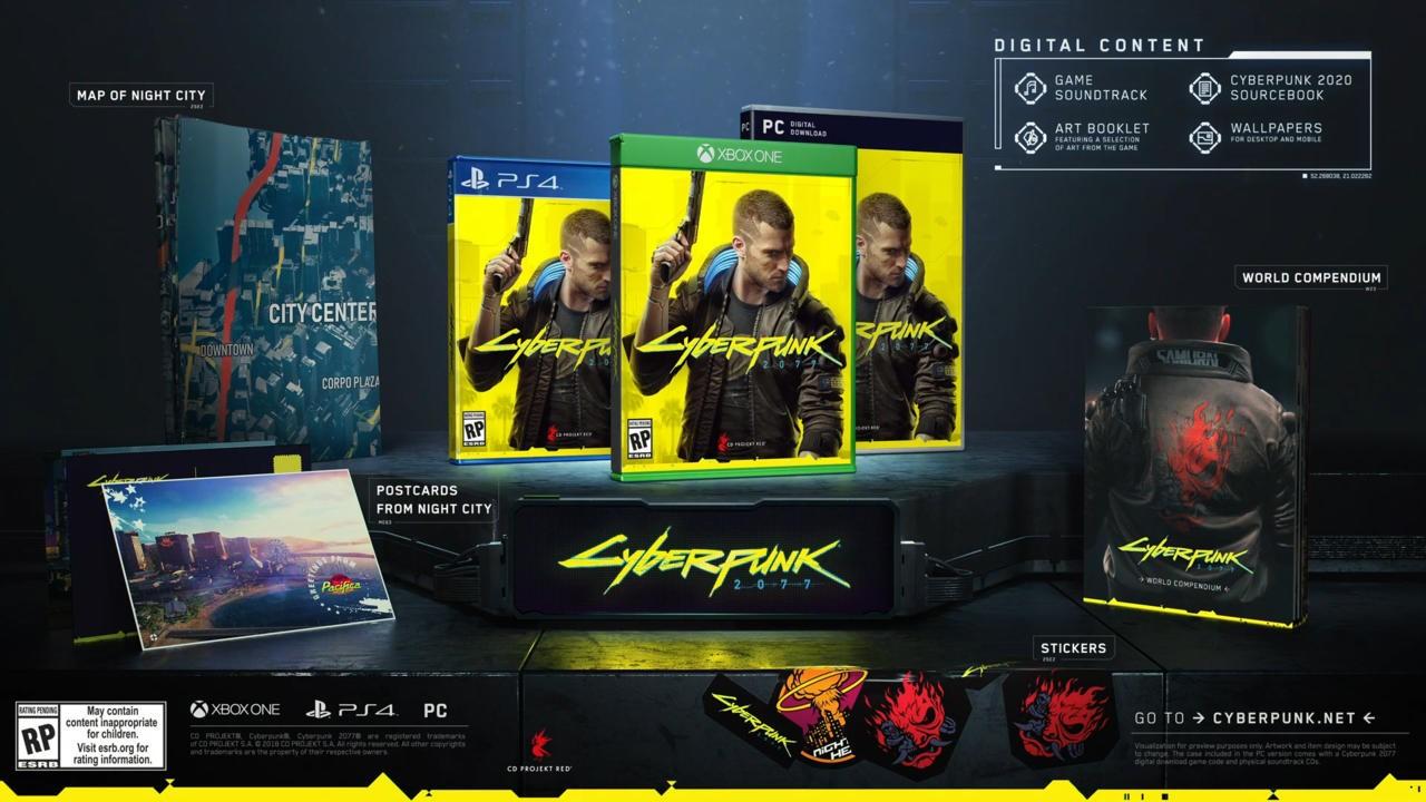 Cyberpunk 2077 стандартное издание - 60 долларов