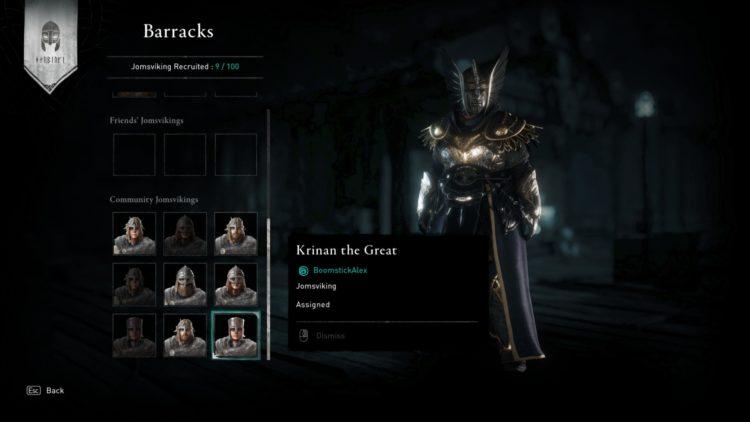 Джомсвикинги Assassin's Creed: Valhalla