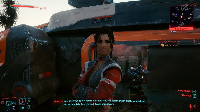 панам cyberpunk 2077