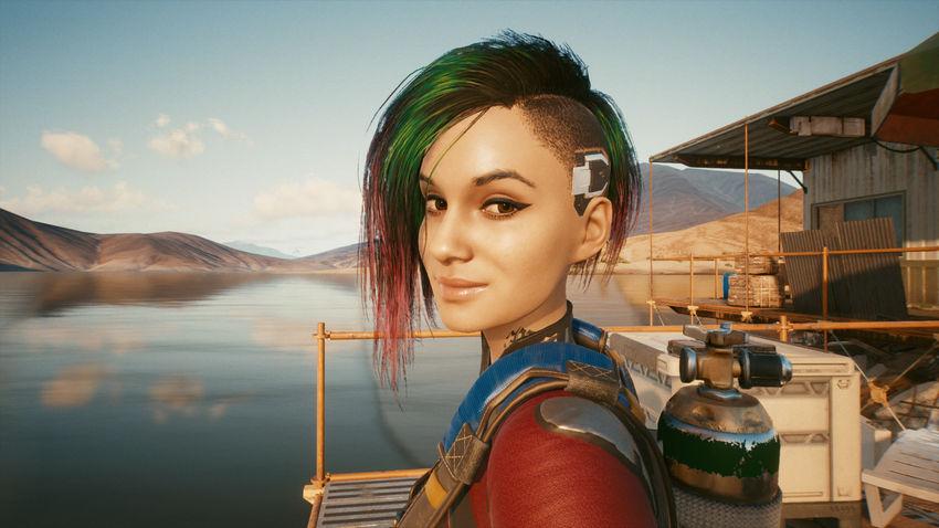 Джуди cyberpunk 2077
