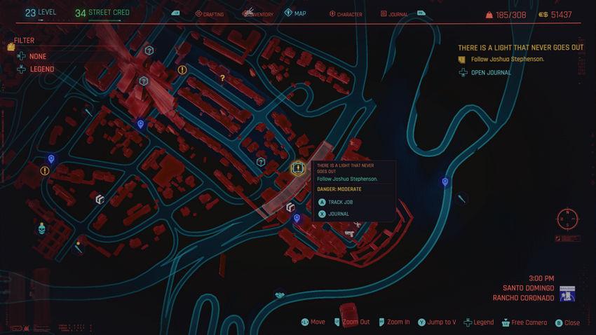 прохождение Район Санто-Доминго Cyberpunk 2077