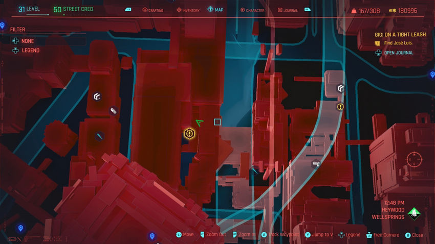 прохождение Район Хейвуд Cyberpunk 2077