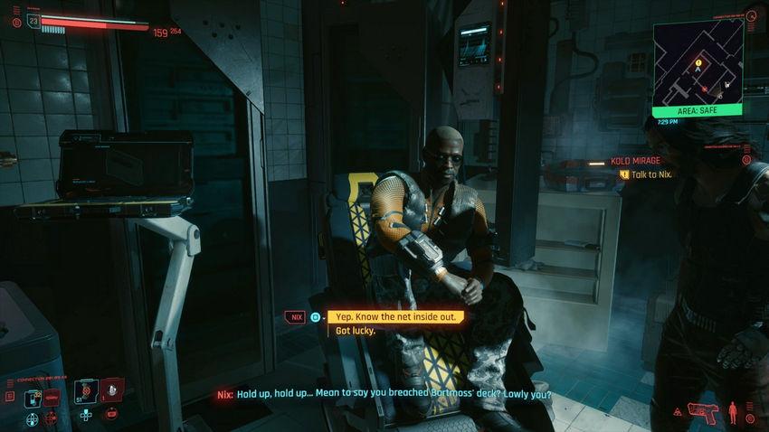 прохождение Район Бесплодные земли Cyberpunk 2077