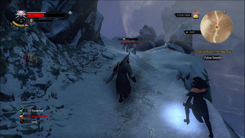 Ведьмак 3 Карантир и Эредин