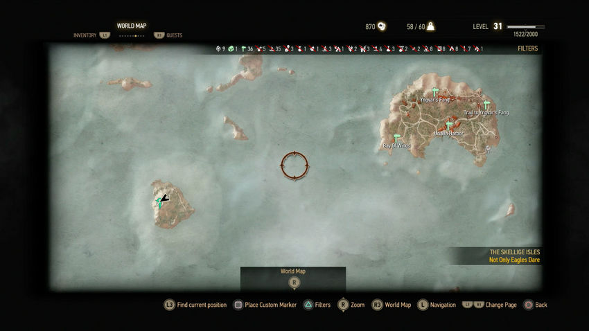 Ведьмак 3 сокровища