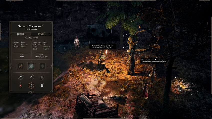 Gord - это новая ролевая игра на выживание в стиле темного фэнтези с геймплеем City-Sim