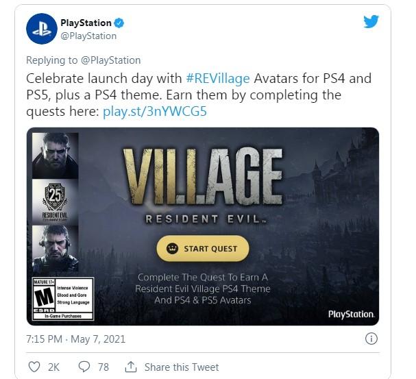 тема Resident Evil: Village