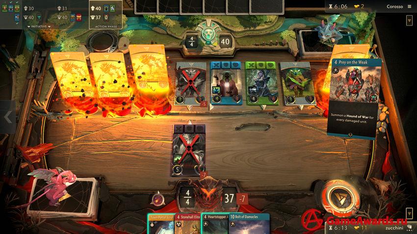 Artifact: The Dota Card Game обзор