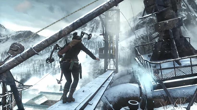Rise of the Tomb Raider исследовательская база прохождение