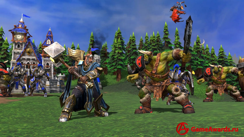 Warcraft III: Reforged превью