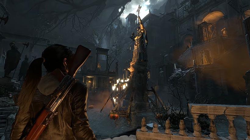 Rise of the Tomb Raider затопленный архив прохождение