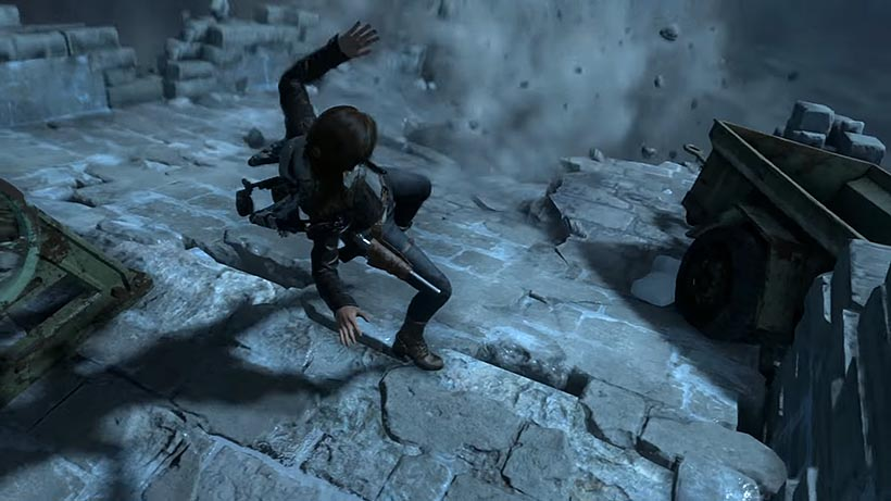 Rise of the Tomb Raider заброшенные шахты прохождение