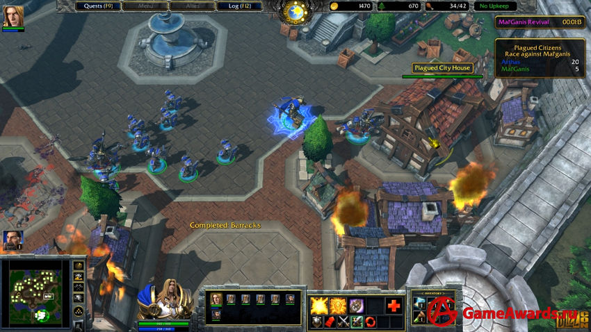 Warcraft III: Reforged превью