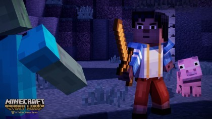 Скриншоты Minecraft: Story Mode - A Telltale Games Series