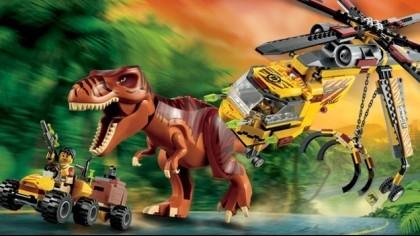 Скриншоты LEGO Jurassic World