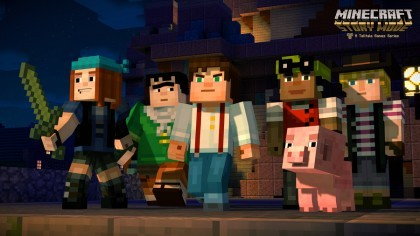 Minecraft: Story Mode - A Telltale Games Series игра