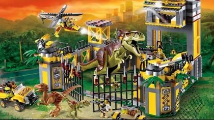LEGO Jurassic World игра