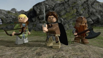 LEGO The Lord of the Rings игра
