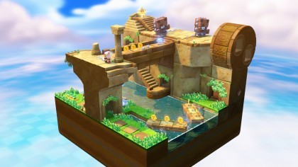 Captain Toad: Treasure Tracker игра