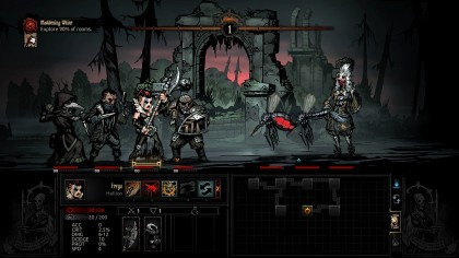Darkest Dungeon: The Crimson Court игра