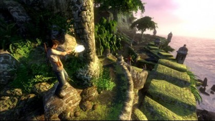 Uncharted: Drake's Fortune игра