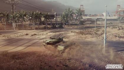 Скриншоты Armored Warfare