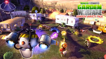 Plants vs Zombies: Garden Warfare игра