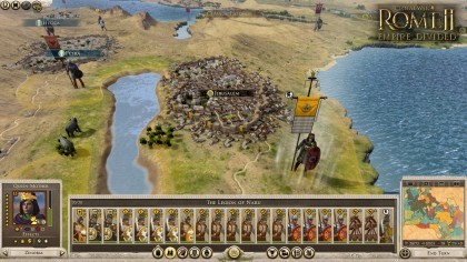 Total War: ROME II - Empire Divided игра